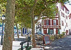 Le Bar de la Marine à Saint Jean de Luz