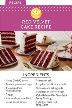 Fun Baking Recipes, Easy Cake Recipes, Frosting Recipes, Cupcake Recipes, Cupcake Cakes, Cupcakes, Cake Recipes From Scratch, Best Red Velvet Cake Recipe From Scratch, Homemade Cakes