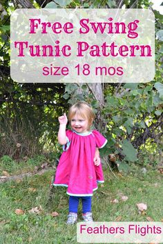 Feather's Flights: A Sewing Blog: FREE PATTERN: Swing Tunic and GIVEAWAY