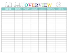 Paying off Debt Worksheets Debt Debt Payoff - Debt Calculator - Calculate credit card payment and interest. - Paying off Debt Worksheets Debt Debt Payoff