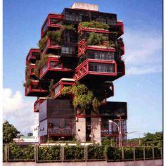 Brazilian architecture.