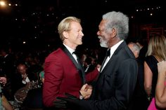Morgan Freeman at the AFI Life Achievement Award Jane Fonda 2014