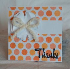 Thank You Notes 25 Handmade Orangle Multi by CardinalBoutique, $43.75