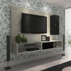 4 Kinds of TV Furniture Living Room Wall Units, Living Room Modern, Living Room Designs, Living Room Decor, Living Spaces, Tv Wall Decor, Tv Furniture, Home Entertainment, Home Decor Inspiration