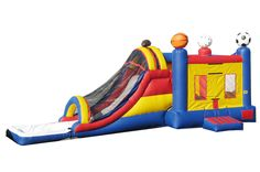 Sport Slide Combo With Pool 4in1