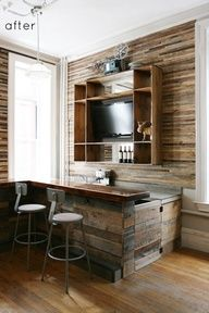 Pallet bar (practical & functional) http://dunway.info/pallets/index.html