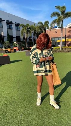 Baddie Outfits Casual, Cute Swag Outfits, Dope Outfits, Teen Fashion Outfits, Girl Outfits, Teenager Outfits, Pretty Outfits, Fashion Women, Black Girl Aesthetic