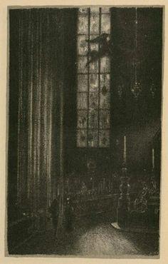 hugo steiner-prag, der golem (1915) plate 08