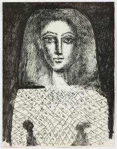 Picasso lithograph print