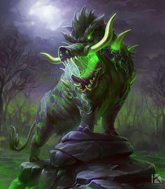 Mythical Creatures Art, Magical Creatures, Fantasy Creatures, Fantasy Monster, Monster Art, Creature Concept Art, Creature Design, High Fantasy, Dark Fantasy Art