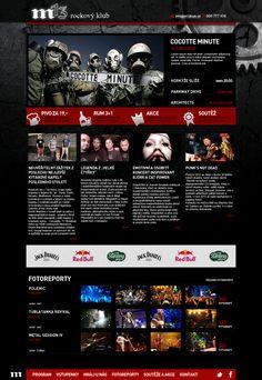 Klub M13 #webdesign Web Design, Rum, Design Web, Website Designs, Room, Site Design
