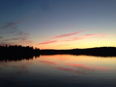 Beautiful Muskoka evening.