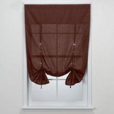 Aspen Tie-Up Window Shades - BedBathandBeyond.com