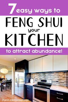 Feng Shui Tips For Wealth, Feng Shui Guide, Feng Shui Rules, Feng Shui Bedroom Tips, Room Feng Shui, Feng Shui House, Feng Shui Kitchen Cures, Feng Shui Entryway, Feng Shui Colours