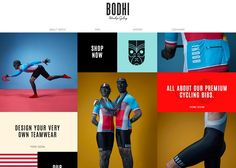 Bodhi Cycling | CSS Website