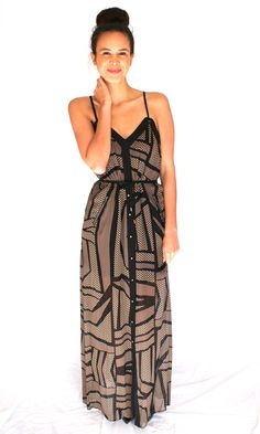 Dresses :: WISH Trapeze Maxi Dress