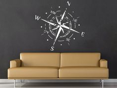 Hey, I found this really awesome Etsy listing at https://www.etsy.com/listing/385670252/compass-rose-wall-decal-vinyl-sticker