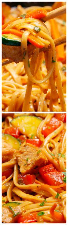 Dragon Noodles Recipe