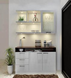 Crockery Units – Luxury Interior Designers in Whitefield – Home Decors in Bangalore rnrnSource by sahilintell Living Room Partition Design, Room Partition Designs, Design Living Room, Kitchen Room Design, Home Room Design, Dining Room Design, Home Decor Kitchen, Interior Design Kitchen, Dining Area