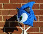 Sonic the Hedgehog Beanie Crochet Kids Hats, Crochet Toddler, Crochet Baby, Sonic The Hedgehog Costume, Sonic Costume, Yarn Crafts, Diy Crafts, Heart For Kids, Crochet Patterns