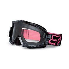 Goggles >> Fox Racing The Main Tarantula Goggles ❤ liked on Polyvore