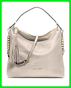 Michael Kors Bedford Tassel Pebbled Shoulder Bag Crossbody Hobo Purse -  Hobo bags (*Amazon