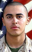 Marine Lance Cpl. Jonathan R. Flores  Died June 15, 2005 Serving During Operation Iraqi Freedom  18, of San Antonio; assigned to 1st Battalion, 5th Marine Regiment, 1st Marine Division, I Marine Expeditionary Force, Camp Pendleton, Calif.; unit operating with 2nd Brigade Combat Team, 2nd Infantry Division of the U.S. Army, attached to 2nd Marine Division, II Marine Expeditionary Force (Forward); killed June 15 when his vehicle hit an improvised explosive device while he was conducting combat…