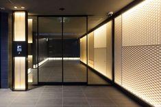 プラセシオン瑞穂桜山 | 株式会社タニハタ Bike Room, Column Design, Japanese House, Entrance Hall, Modern House Design, Lighting Design, Luxury Homes, Mansions, Interior Design