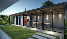 2011 | EDÍCULA CASA WZ - Henrique Zulian Outdoor Rooms, Outdoor Decor, Garden Office, House Extensions, House Plans, New Homes, Backyard, House Design, Decoration