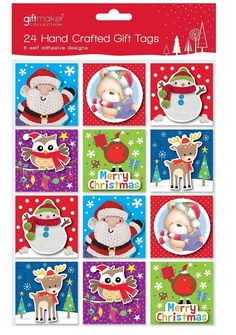 Pack of 24 Hand Crafted Christmas Gift Tags -- You can find out more details at the link of the image.