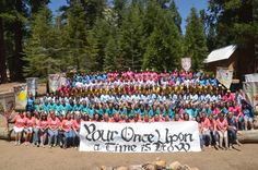 """Your Once Upon A Time Is Now"" Camp Outline by Sisters in Zion with handouts, ideas etc."