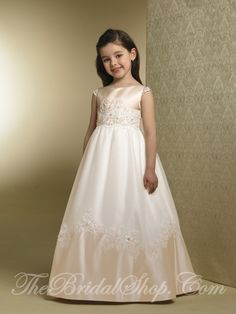 Communion Dress-love the beading.