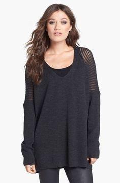 Eileen Fisher V-Neck Wool Tunic | Nordstrom