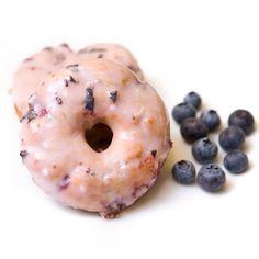 Lemon Blueberry Baked Doughnuts #SundaySupper via @Laura Jayson Hunter