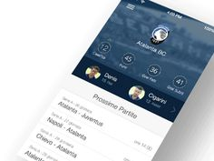 Dribbble - Football App [ Animated ] by Stedesign
