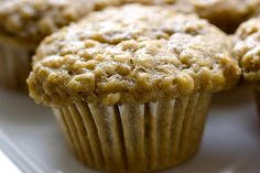 Peanut Butter Oatmeal Muffins. A great recipe to use the PB2 Peanut Butter Powder in my Wellness Info and Tips board without the calories of PB!!!