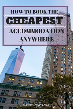 to Book the Cheapest Hotel Possible (Updated The best tips, tricks and advice to think outside the box and book the cheapest accommodation, anywhere! The best tips, tricks and advice to think outside the box and book the cheapest accommodation, anywhere! Cheap Travel, Budget Travel, Travel Tips, Travel Hacks, Travel Plan, Travel Essentials, Solo Travel, Time Travel, Vacation Travel