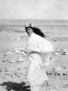 Captain Thomas Edward Lawrence- Lawrence of Arabia in Akaba