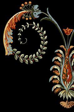 Paisley Art, Paisley Pattern, Pattern Art, Pattern Design, Baroque Pattern, Album Design, Abstract Flowers, Geometric Art, Types Of Art