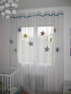 Home Curtains, Curtains With Blinds, Kids Wall Decor, Baby Room Decor, Rainbow Decorations, Curtain Designs, Bed Styling, Creative Decor, Window Coverings