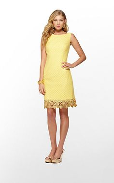 Lilly Pulitzer Yellow Dress. i wanna change the gold ribbon on my yellow dress for something like this. the ribbon isn't making it long enough.