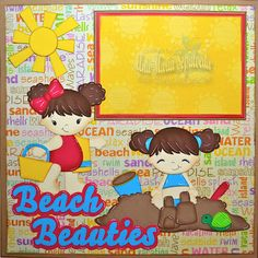 Beach Beauties layout