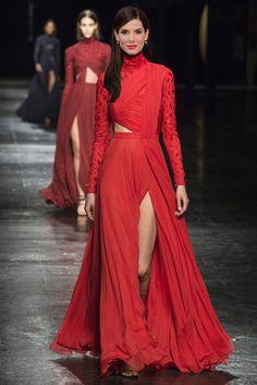 Vestidos de Oscar: predicciones Glamour para la red carpet Sandra Bullock en Prabal Gurung.