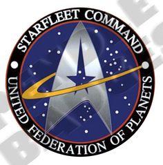 star trek cake theme | Star Trek Starfleet Command Badge