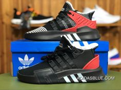 4595e03ed62b Adidas Originals EQT Equipment BASK ADV AQ1013 Running Shoes Core  Black Footwear White Hi-Res Red Best