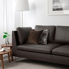 IKEA offers everything from living room furniture to mattresses and bedroom furniture so that you can design your life at home. Check out our furniture and home furnishings! Ikea Stockholm Sofa, Ikea Bank, Ikea Us, Living Furniture, Living Room Modern, Sofa Design, Leather Sofa, Cheap Home Decor, Home Decor Accessories