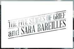 The Five Stages of Grief and Sara Bareilles. Read this right now! Help with any breakup. You r welcome =) press below pic for link Stages Of Grief, Sara Bareilles, Chat Board, Just The Way, Breakup, Love Her, Haha, Reading, Quotes