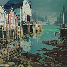 ۞ The Gentleman Art Gallery, Gilles, Galerie D'art, Reproduction, Workshop Ideas, Nova Scotia, Flakes, Gentleman, New York Skyline