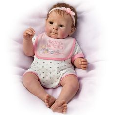 """Daddy's Little Girl Doll by Sherry Rawn 18"""""""