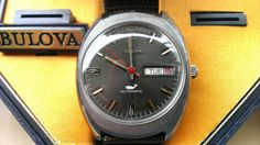 Vintage Bulova Sea King men's automatic watch by TheRedNashWatchCo